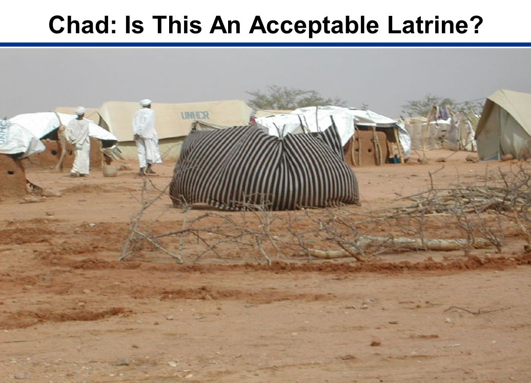 Chad: Is This An Acceptable Latrine