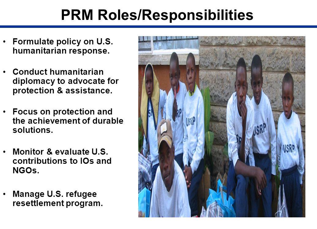 PRM Roles/Responsibilities