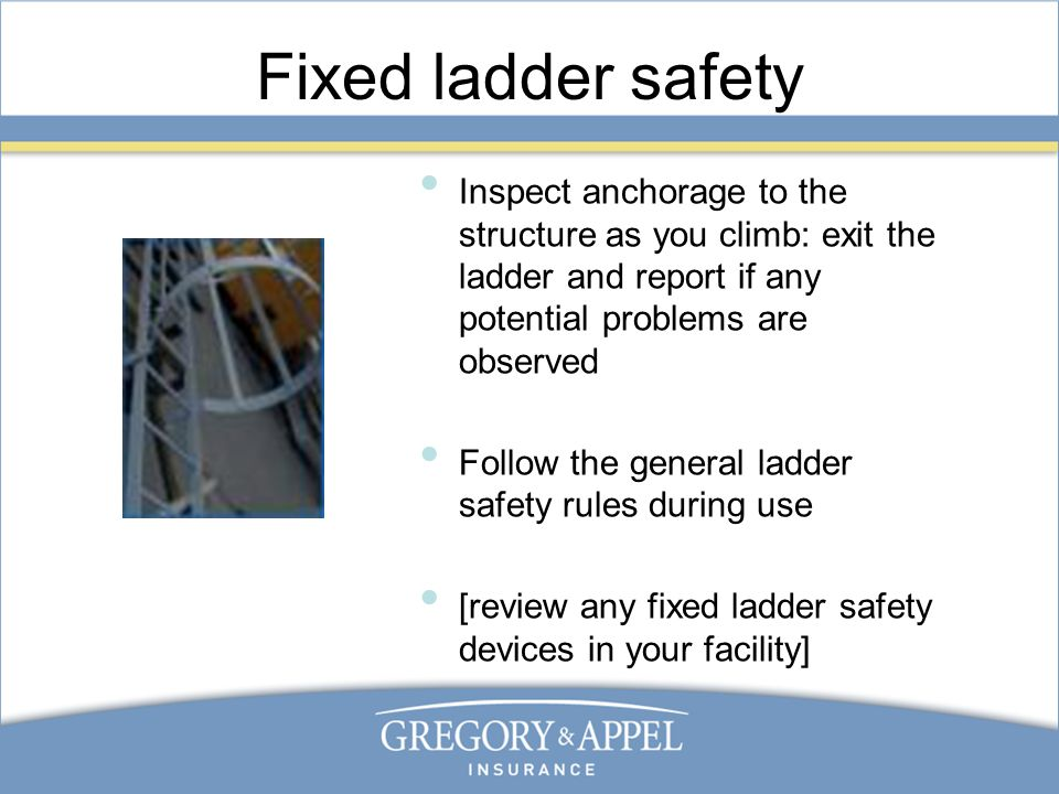 Ladder Safety Training Ppt Video Online Download