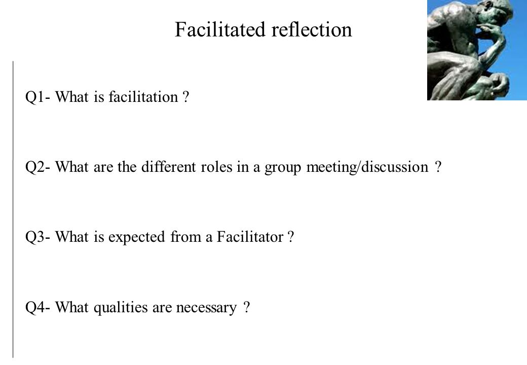 reflection on difficult facilitation The leadership challenge, 5th edition  difficult for you to engage in and why what does it take to meet this challenge practice 5.