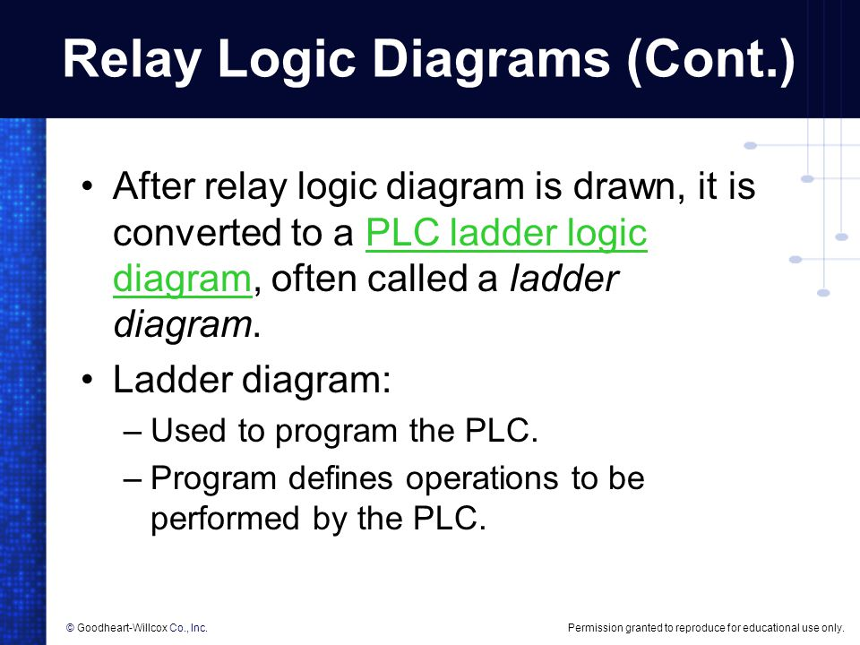 Creating relay logic diagrams ppt download 5 relay ccuart Gallery