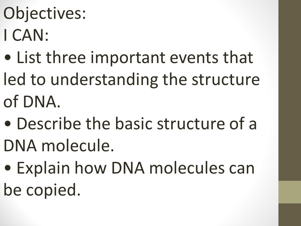 understanding the dna We know how dna works chemically, pretty much to the last detail but we are  only beginning to understand what natural processes are doing with dna and.