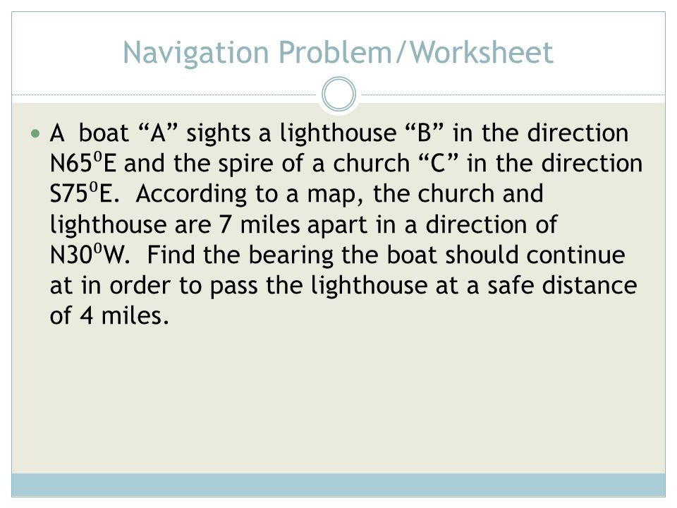 20 Best Of Map Navigation Worksheet Wdscreativeus. Trigonometric Functions Of Angles Ppt Video Online Download. Worksheet. Celestial Navigation Worksheet At Clickcart.co