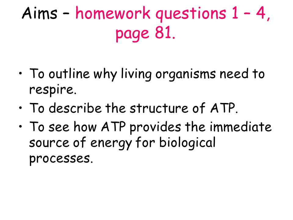homework question 1