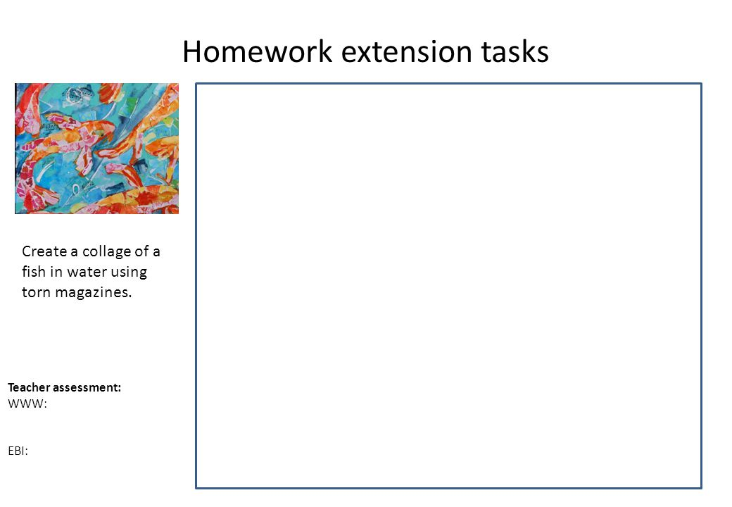 homework extension