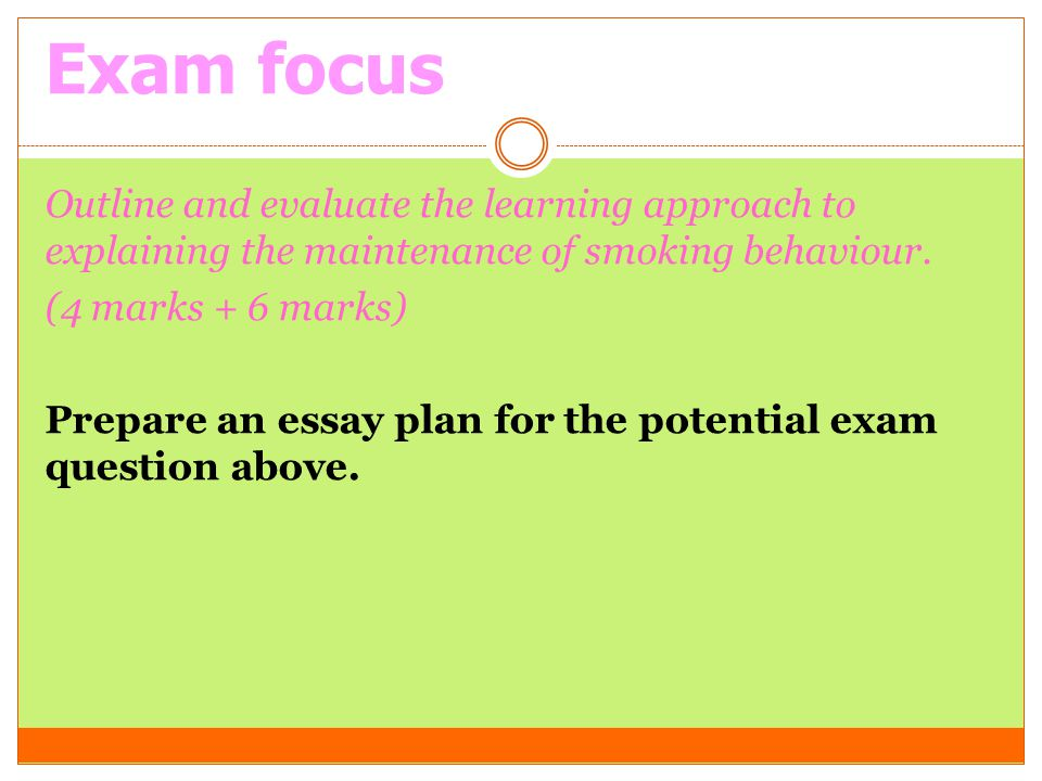 outline and evaluate the approach that Outline and evaluate the behavioural approach to psychopathology essay outline and evaluate the behavioural approach to psychopathology (12 marks) behaviourists believe that all of a person's complex behaviours are the result of learning through interaction with the environment.