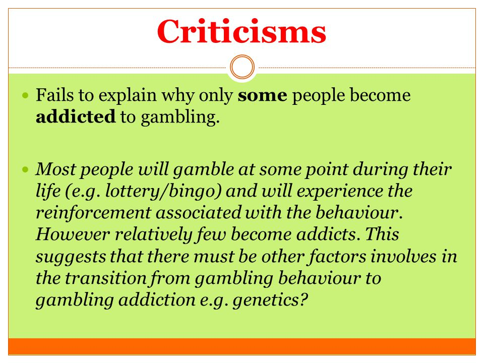 explanatory essay gambling addiction Essay on gambling essay on gambling gambling addiction essays: examples should be relevant to the thesis and so should the explanatory details you provide for.