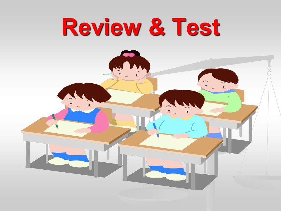 Review & Test