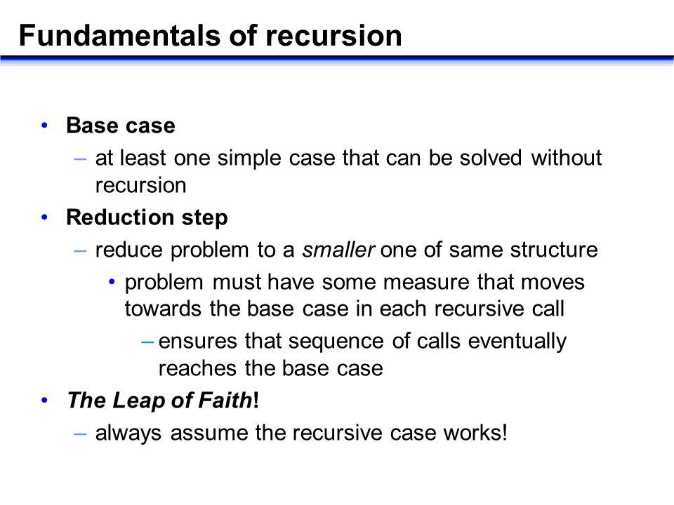 Recursion. - ppt download