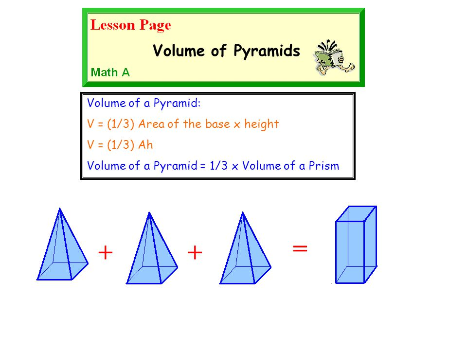 how to find the volume of a quadrilateral pyramid