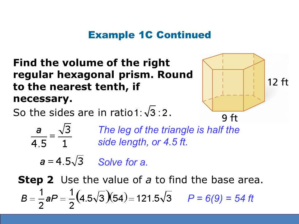 Surface Area And Volumes Of Prisms Ppt Video Online Download