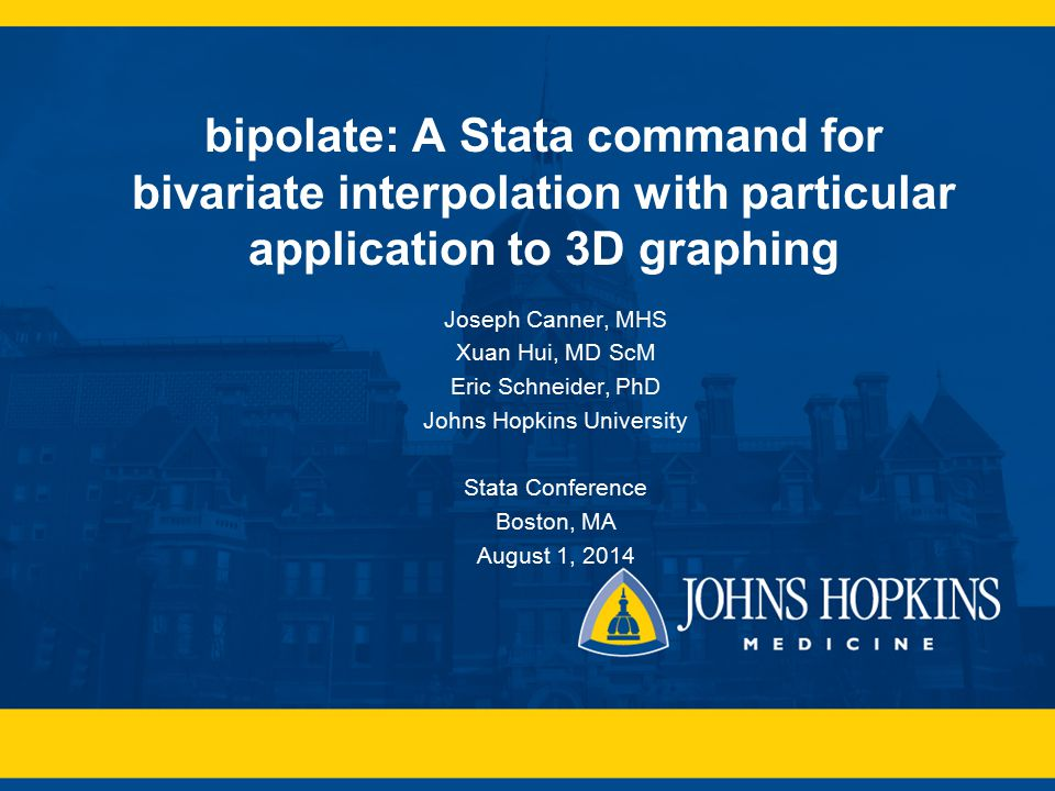 johns hopkins university - ppt video online download, Presentation templates
