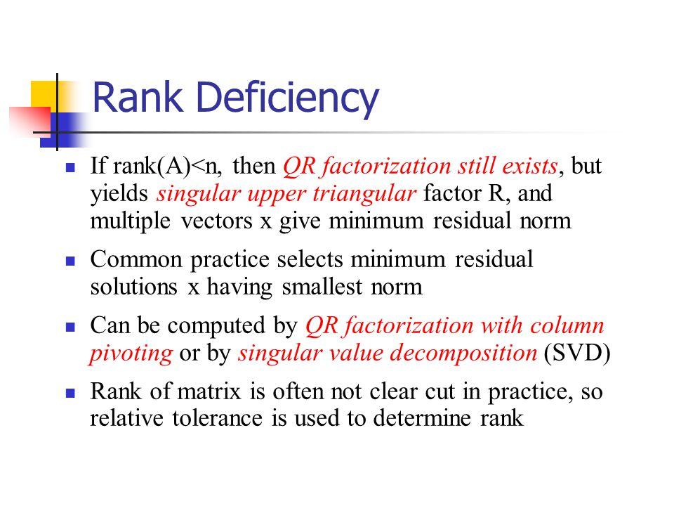 determine rank of a matrix pdf