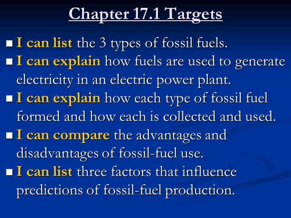 energy and the environment fossil fuels essay It takes about 10 fossil fuel calories to produce and transport each food  the  implications of agricultural energy use for the environment are.