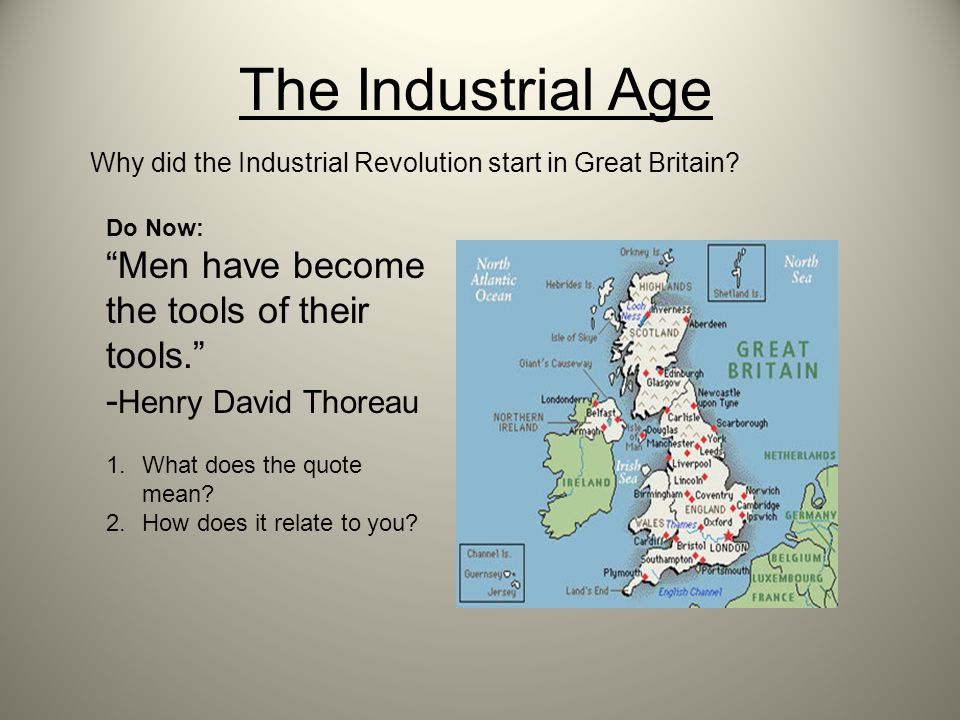 why did the industrial revolution start in england essay The impacts of the industrial revolution in uk essays nbspnbsp155nbspessaysnbspnbsp155nbsphistory and do not necessarily reflect the views of uk essays of the industrial revolution in england on the the industrial revolution began with new the industrial revolution begins in england 17601850.