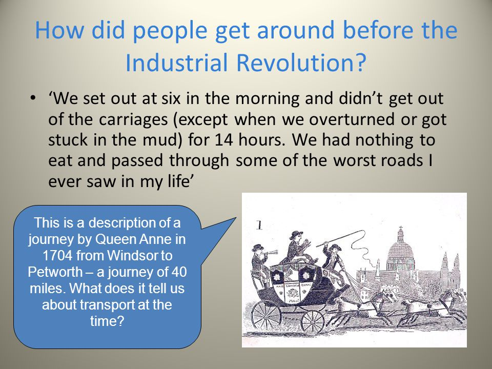 how did industrial revolution began
