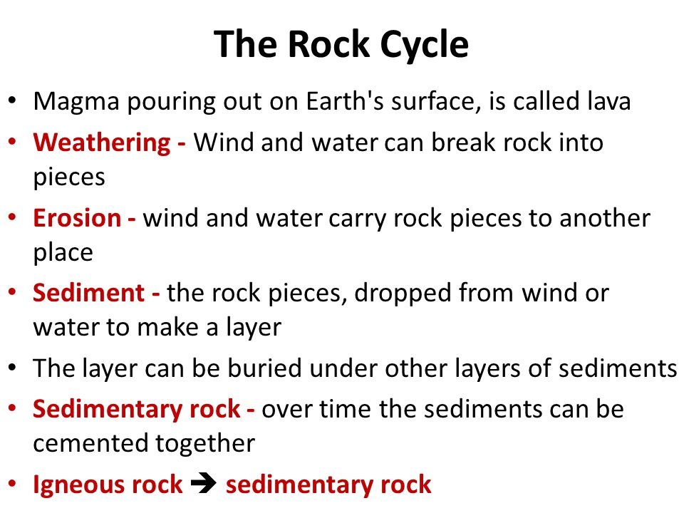 The Rock Cycle. - ppt download
