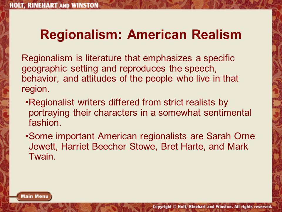 importance of literary realism on novels Realism in literature chronicles the lives of ordinary people--farmers, shop keepers, waitresses, construction workers realism literature is a reaction to heroism and romanticism that portrayed unrealistic deeds by elevated members of society.