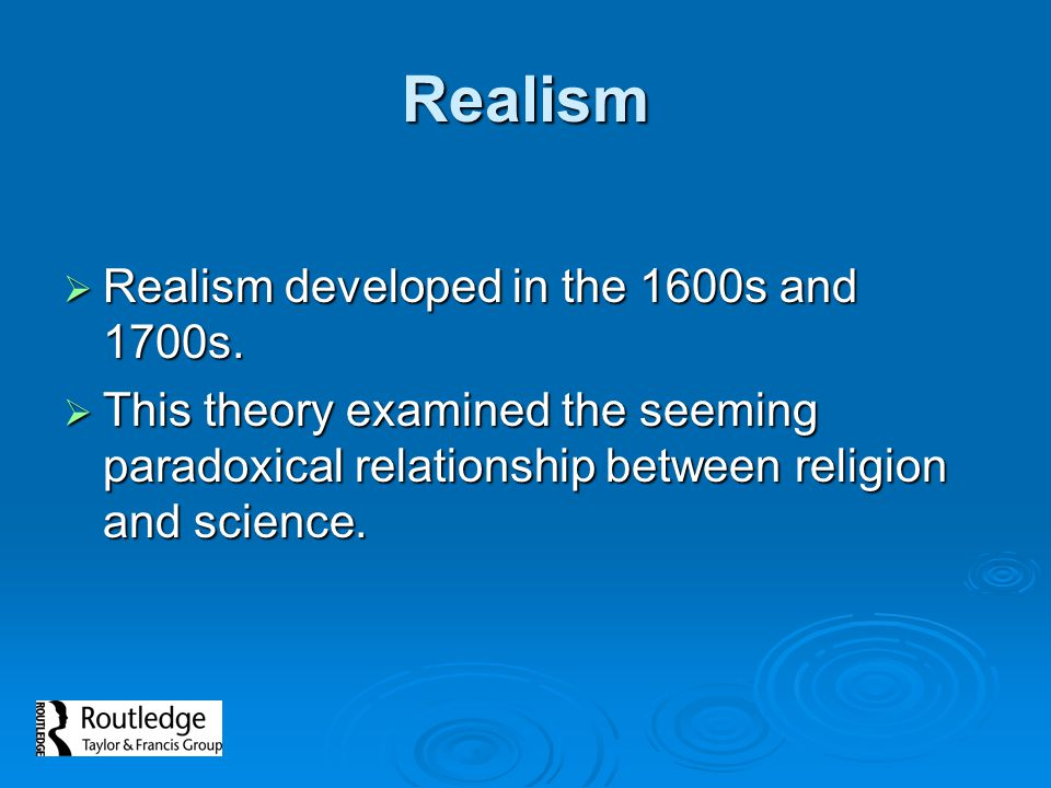relationship between religion and science ppt