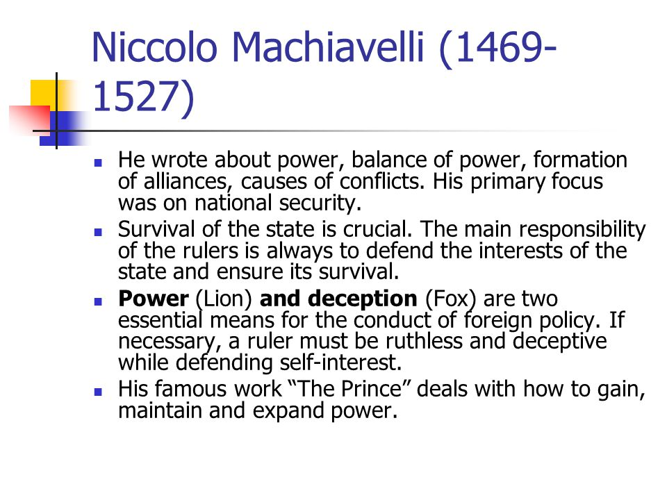 a biblical perspective on the prince by niccolo machiavelli The prince by niccolo machiavelli introduction by christian gauss and a great selection of similar used, new and collectible books available now at abebookscom.