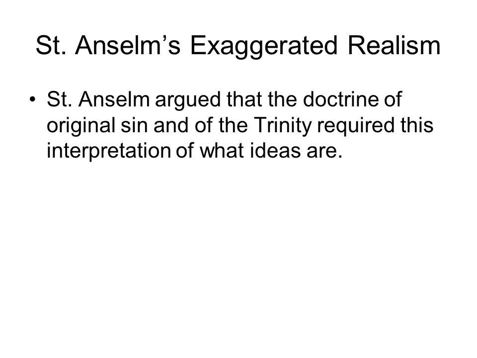 Anselm proslogion quotes