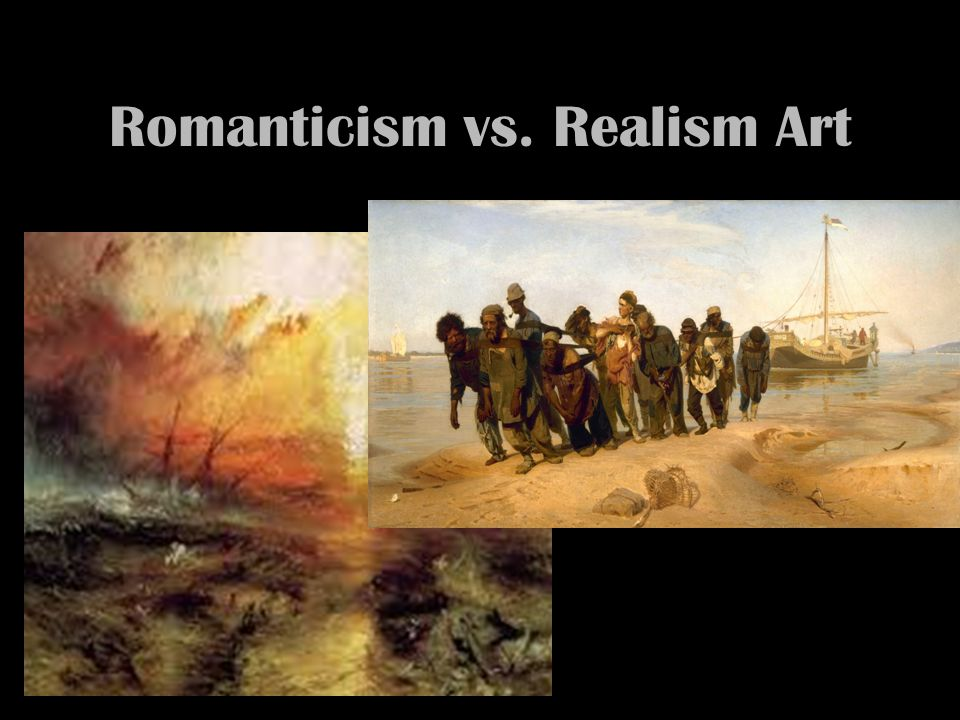 "the romanticism and realism in art and literature Realism the dominant as a ""report"" grew out of this marriage between literature and seeing their lives of privilege reflected back to them in art."