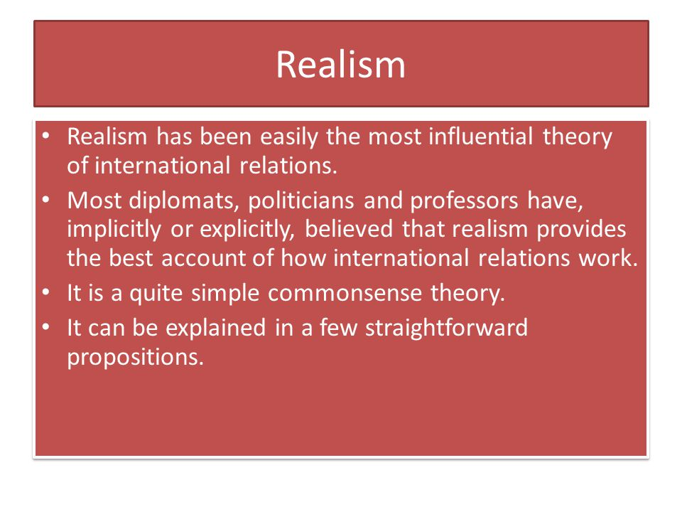 Realism the blueprint of international relations research paper help realism the blueprint of international relations malvernweather Images