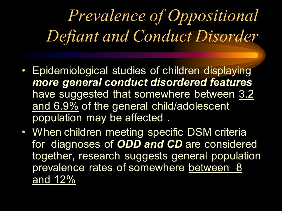 oppositional defiant disorder research paper Oppositional defiant disorder: case study and research samaritan l carlo suffolk county community college sys 213, exceptional child able keller is an english-speaking and physically healthy four-year-old boy.