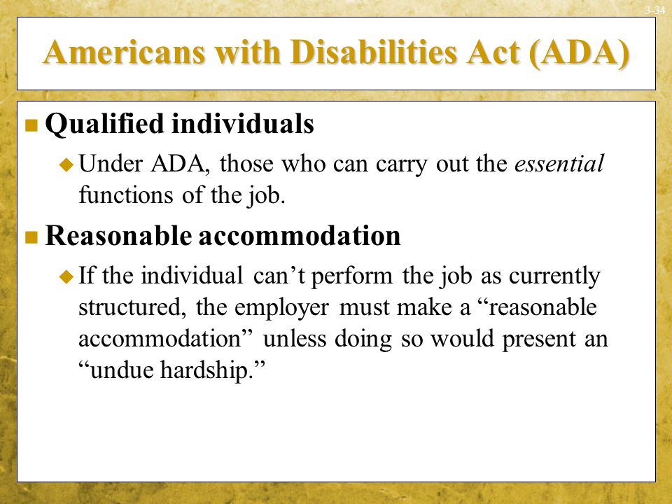 the significance of the americans with disabilities act Disability history  of the 25th anniversary of the americans with disabilities act  collections that capture the significance and legacy of the ada.