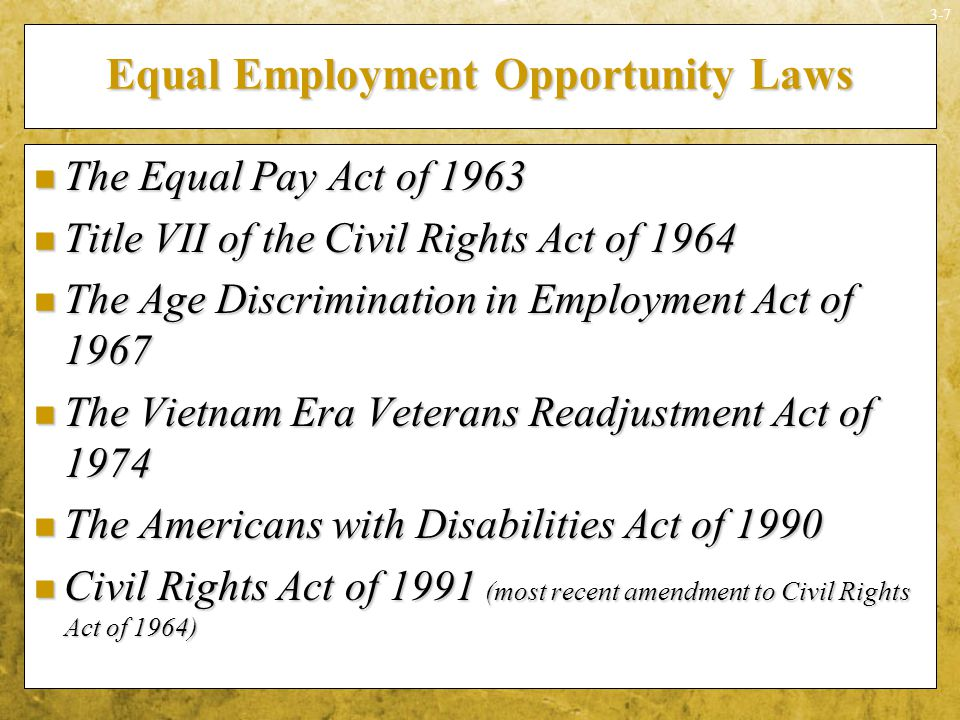 law and equal employment opportunity The law also requires that employers reasonably accommodate applicants' and  employees' sincerely held religious practices, unless doing so would impose an.