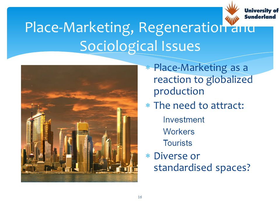 Session 5 Place Marketing and Regeneration RDI Management Learning ...