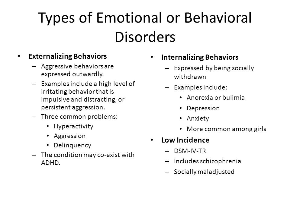 how to cope with emotional and behavioral disorders That said, and while many students with bipolar disorder may need special education, some student accomodations for persons with anxiety and emotional disorders : a person managing an online program, either a virtual volunteering program or one that provides online service delivery for an agency, needs to have a.