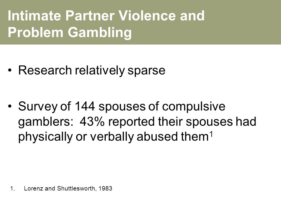 solving the problem of intimate partner violence Intimacy and violence: exploring the role of victim-defendant relationship in criminal law  how the implementation of specialized or problem-solving courts may be transforming the  6 intimate partner violence is defined as acts that occur between victims and defendants.