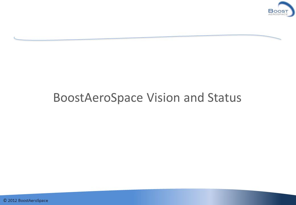 BoostAeroSpace Vision and Status
