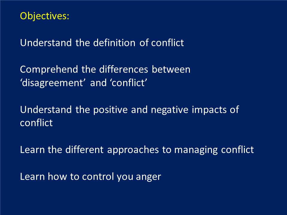 the definition of conflict Advertisements: conflict in society: definition, causes and types definition of conflict: conflict is an ever present process in human relations it has been defined by a w green as the deliberate attempt to oppose, resist or coerce the will of another or others according to gillin and.