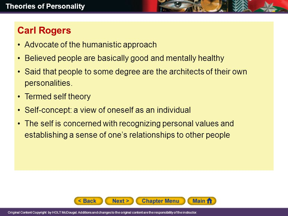carl rogers humanistic theory of personality pdf