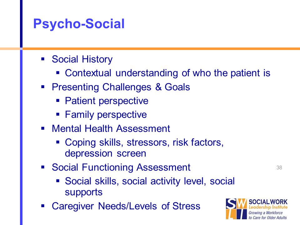 psycho social issues and coping strategies for Coping strategies are also looked at where in some cases they have shown abilities in strengthening the immune system the understanding of pni is crucial in understanding the association between immunity, depression, stressors, and psychosocial aspects, along with their interactions with each other and their causal relations.