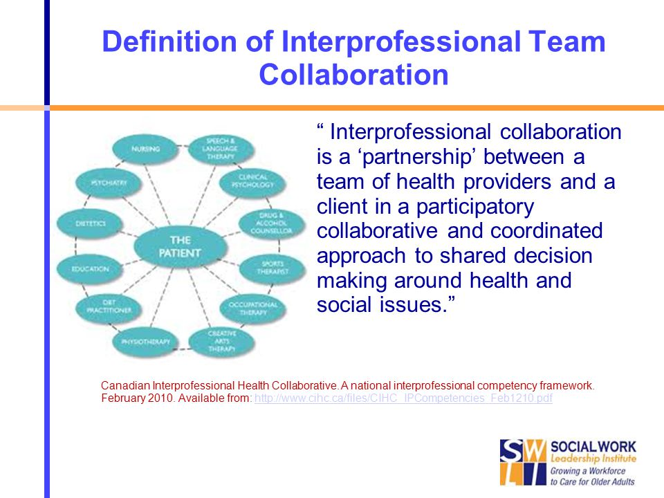 Collaborative Teaching Define ~ Team form functions from multi disciplinary to