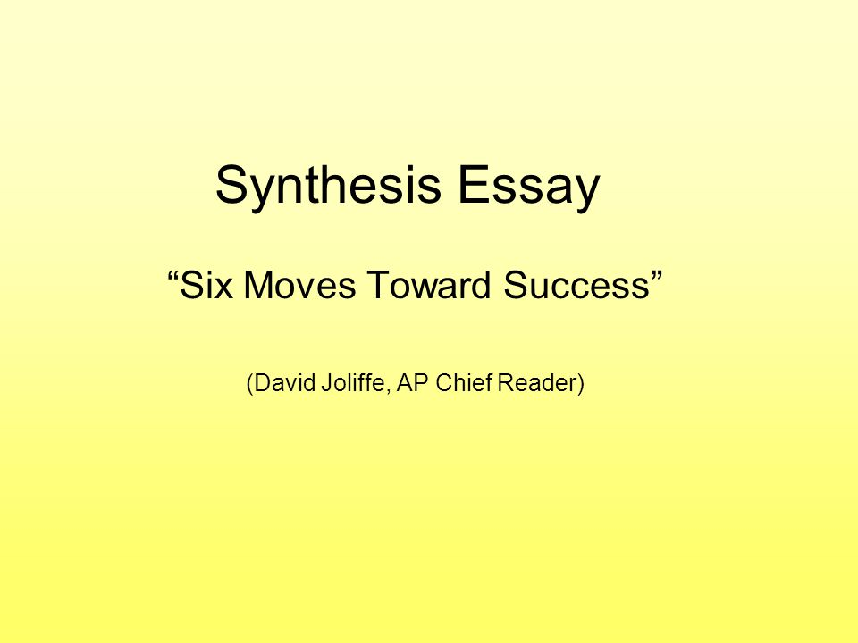 synthesis paper advertising Synthesis essay materials  the two synthesis essay questions below are examples of the question type that has been one of the three free-response questions on.