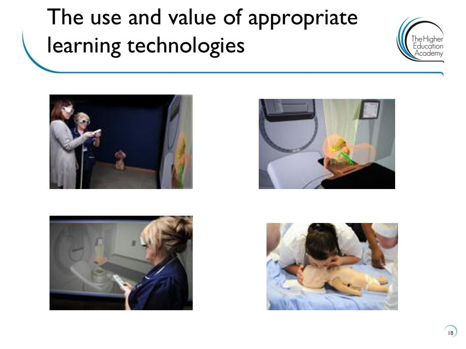 The use and value of appropriate learning technologies