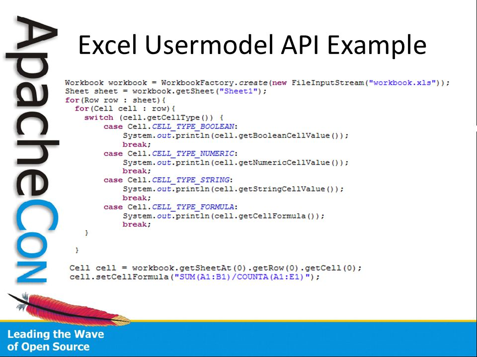 Evaluation of Excel Formulas in Apache POI - ppt download