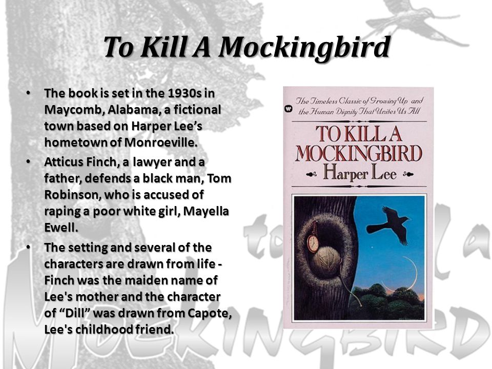how to kill a mockingbird setting