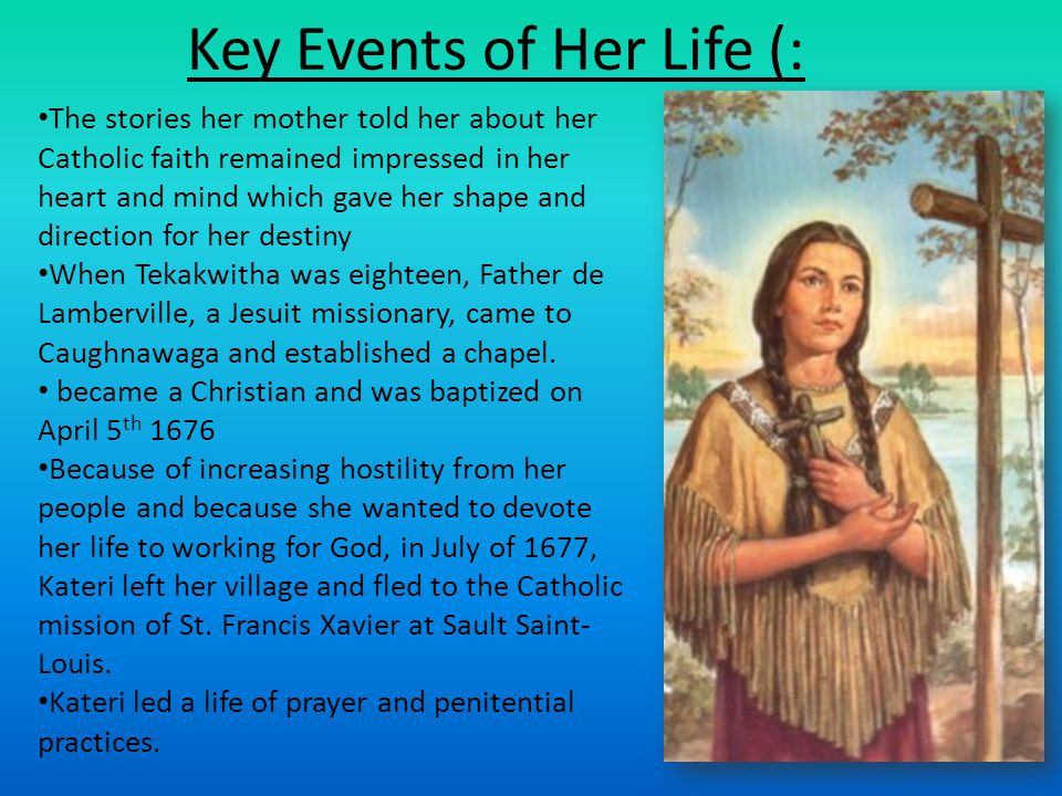 Key Events of Her Life (: