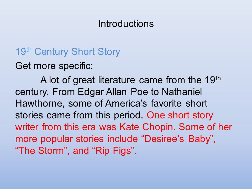 a literary comparison of literature by nathaniel and poe The black man in late nineteenth-century literature: a comparison of  as each literary  the first is the major impact of nathaniel hawthorne and edgar allan poe.