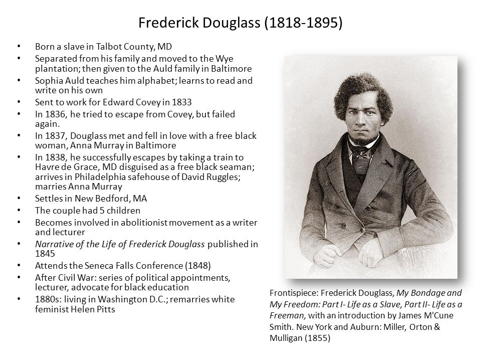 frederick douglass vs harriet jacobs The comparison between harriet jacobs and frederick douglass fredrick douglass and harriet jacobs had a lot in everyday because (douglass 95) this.