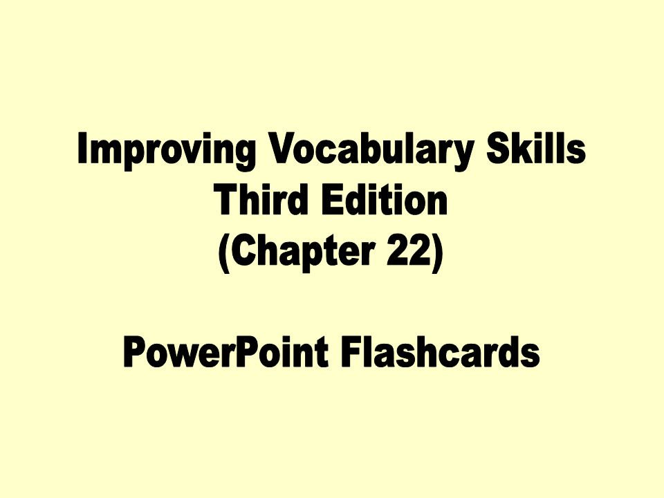 Improving vocabulary skills 4th edition chapter 11 answers buy short version 9781591941910 by sherrie l worksheets help secondary school kid his skills fandeluxe Gallery