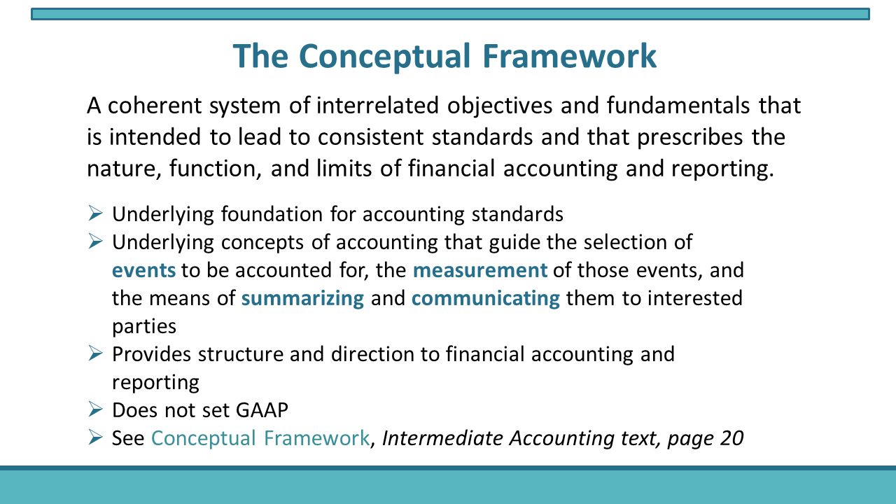 accounting regulation and conceptual frameworks The conceptual framework, accounting principles and what we  believe is true quintus vorster  of the financial accounting standards.
