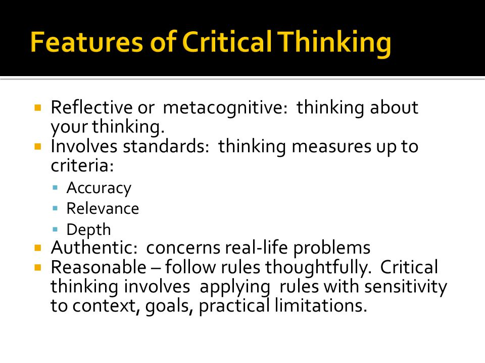 critical thinking and following standards The iia's critical thinking:  in this seminar, we will discuss the following important issues:  applicable standards & guidance.