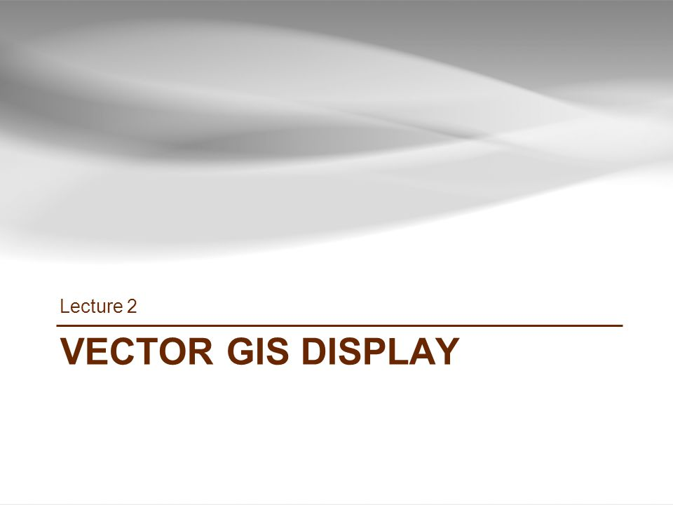 Gis tutorial 1 lecture 2 map design ppt video online download 46 lecture 2 vector gis display gis tutorial 1 basic workbook sciox Gallery