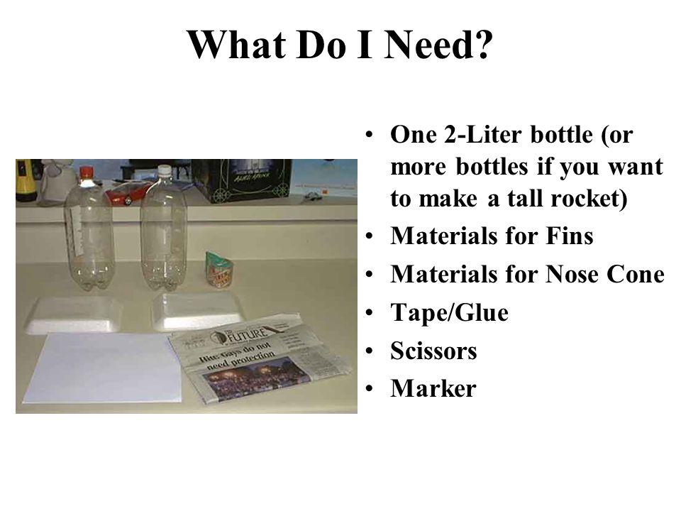 how to build fins for a 2 liter bottle rocket
